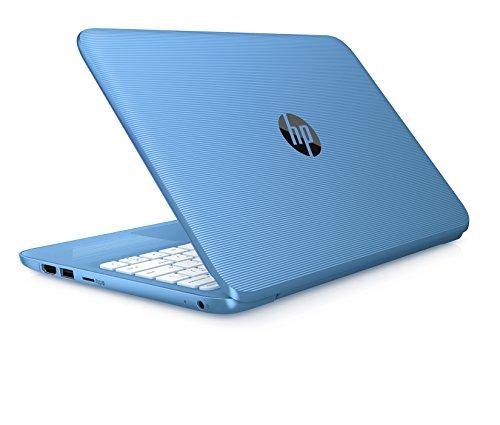 HP Stream Laptop PC 11-y010nr (Intel Celeron N3060, 4 GB RAM, 32 GB eMMC) with Office 365 Personal for one Year