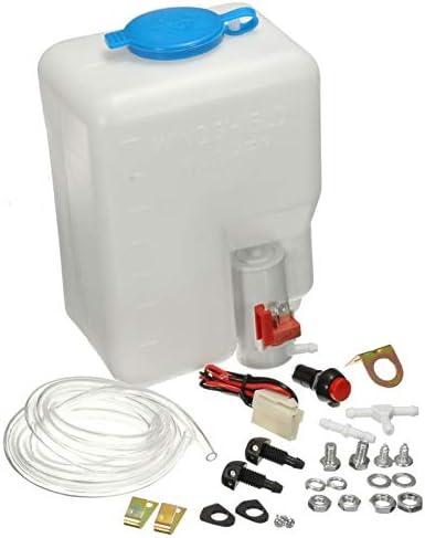 NB YULUBAIHUO 12 V Auto Voorruit Wasmachine Reservoir Pomp Fles Kit Voorruit Nozzle Jet Switch Boot Marine Schoon Gereedschap Kit