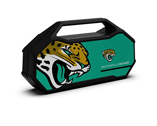 NFL Jacksonville Jaguars XL Wireless Bluetooth Speaker, Team Color