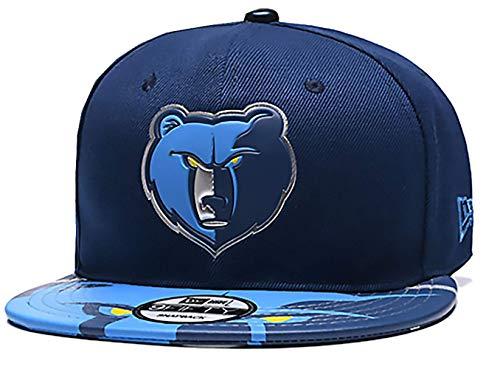Memphis Grizzlies Classic Adjustable Snapback Hat Flat Brim Hat