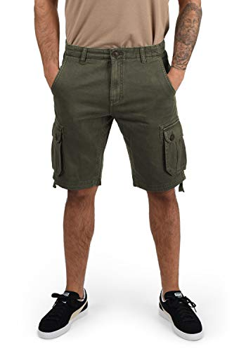 !Solid Vizela Herren Cargo Shorts Bermuda Kurze Hose Aus 100% Baumwolle Regular Fit, Größe:XL, Farbe:Ivy Green (3797)