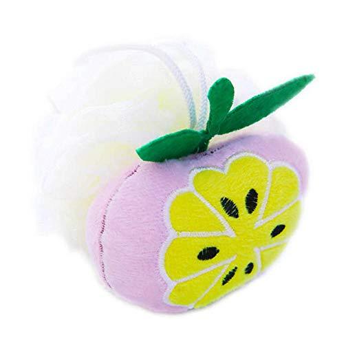 Éponge de douche pour enfants Cute Fruit Design - Orange