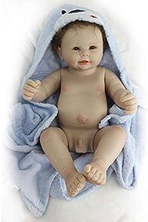 comprar comparacion Nicery Reborn Baby Muñeca de Silicona de simulación Suave, 48 - 50 cm, Regalo para Amigos, Regalo magnético, Juguete para ...