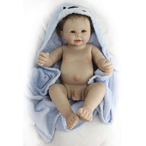 Nicery Reborn Baby Muñeca silicona simulación suave