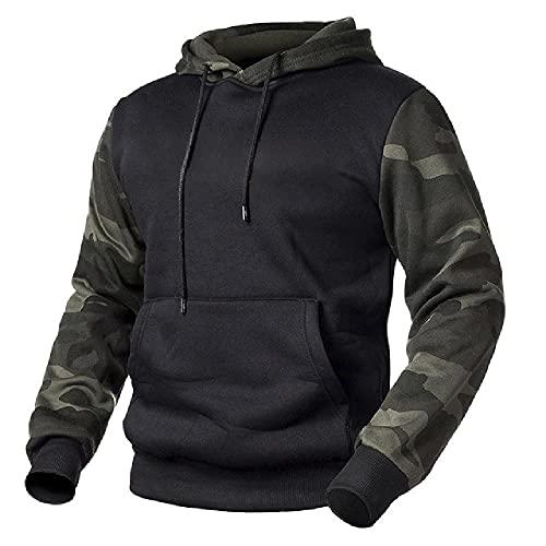Mens Pullover Sudaderas Primavera Hombres Militar Camuflaje Polar Tactical Sudaderas Masculino Camo Hoodie