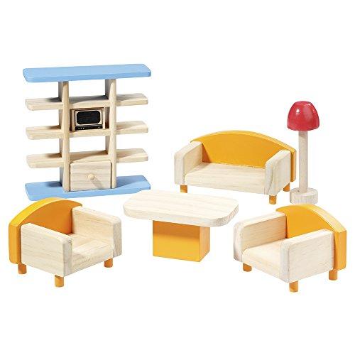 howa Puppenmöbel Wohnzimmer aus Holz 7301
