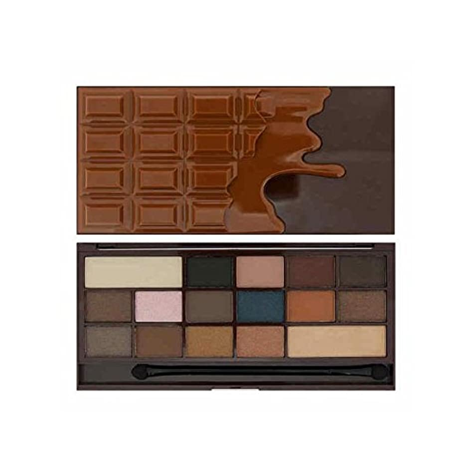 私は心のチョコレートアイシャドウは、キャラメルを塩漬け x4 - I Heart Chocolate Eye Shadow Salted Caramel (Pack of 4) [並行輸入品]