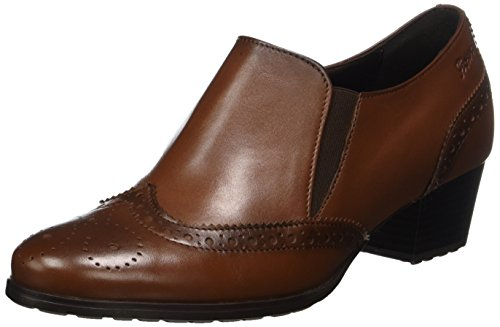Sioux Damen Fereila Pumps, Braun (Cognac), 40 EU ( 6.5 UK)