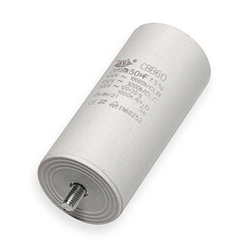 Kondensator 20 µF uF mit Flachstecker Anlaufkondensator Motorkondensator 450V Kondensatoren