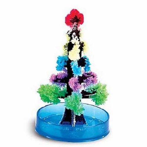 Kids Magic Growing Crystal Tree Kit Decoration Science Toy Gift experiment
