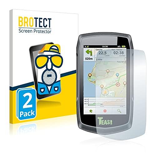 BROTECT 2X Entspiegelungs-Schutzfolie kompatibel mit A-Rival Teasi One Classic Displayschutz-Folie Matt, Anti-Reflex, Anti-Fingerprint