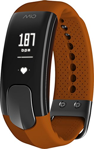 Mio Slice Heart-Rate-Monitors, Sienna, Large