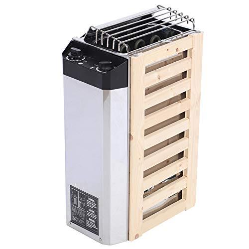 Omabeta 3KW 220V Edelstahl Trockendampfbad Saunaofen mit interner Steuerung Elektroheizwerkzeug für Saunaraum