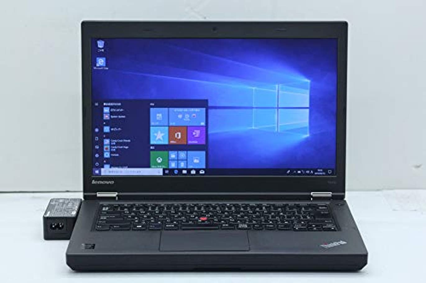 クライストチャーチ不要赤【中古】 Lenovo ThinkPad T440p Core i3 4100M 2.5GHz/4GB/128GB(SSD)/Multi/14W/FWXGA(1366x768)/Win10