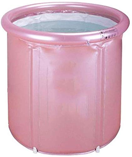 AGWa Tragbare Wanne, Einweichen japanische Badewanne, aufblasbarer elastischer Kunststoff-Erwachsen-Größe Faltbare,B