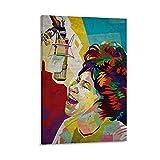 16 Aretha Franklin Leinwand-Kunst-Poster und