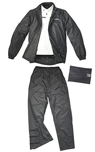 SPIDI Motorrad Regenbekleidung Pacific Wp Kit, Schwarz, Größe 3XL
