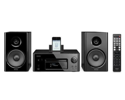 Denon N7 CEOL Noir Kompaktanlage (Internetradio, Air Play, iPod-dock, USB 2.0) schwarz