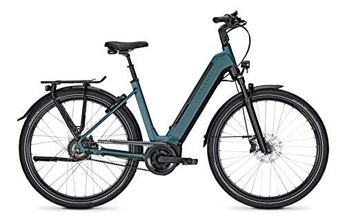 "Kalkhoff Image 5.B Excite+ Bosch Elektro Fahrrad 2021 blau/schwarz (28\"" Wave L/53cm, Topasblue/Magicblack Matt (Wave))"