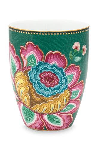 Pip Studio Trinkbecher Jumbo Flower | Green - 300 ml