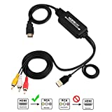 Volantech HDMI to RCA Adapter Cable, HDMI to AV...