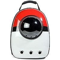 Pet Online La cápsula Espacial del Animal doméstico Backpack hacia Fuera el Portador portátil del Gato, los 32 × 29 × 42cm, D