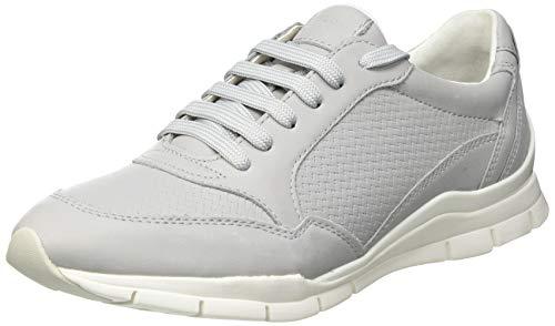 Geox Damen D Sukie A Sneaker, LT Grey, 37 EU
