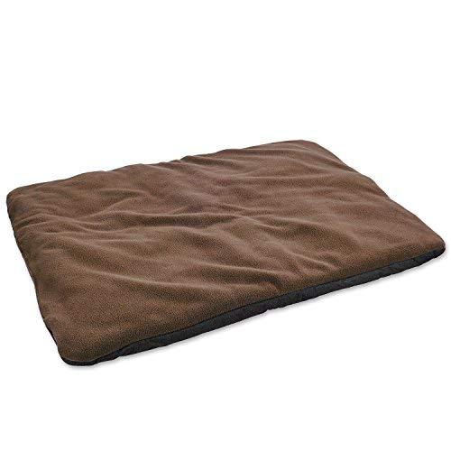 vitazoo Hundedecke, braun, isoliert und leicht gepolstert – sehr leicht, ideal zum Mitnehmen und Transportieren, rutschfeste und Wasserabweisende Unterseite, 70cm x100cm