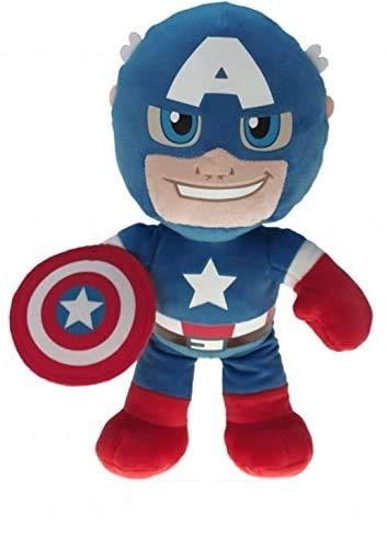 Marvel Super Helden, Super Heroes, The Avengers Plüsch Figuren 22cm zum Kinofilm - Auswahl! Spiderman, Ironman, Thor, Hulk oder Capt. Amerika (Thor) (Capt. Amerika)