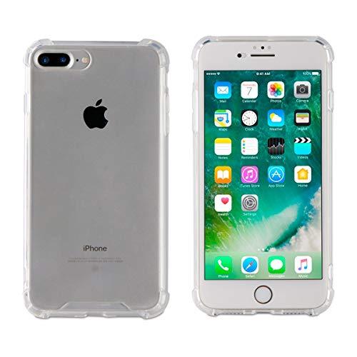 Muvit MPBMC0008 Funda para teléfono móvil 11,9 cm (4.7') Transparente - Fundas para teléfonos móviles (Funda, Apple, iPhone 7 Plus/8 Plus, 11,9 cm (4.7'), Transparente)