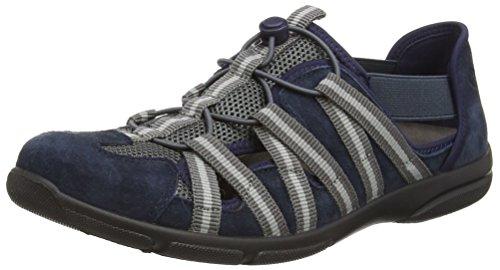 Romika Damen Traveler 01 Slipper, Blau (Jeans 506), 43