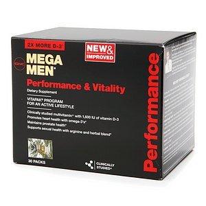 GNC Men s Mega Men Performance & Vitality Vitapak Packs 30 ea