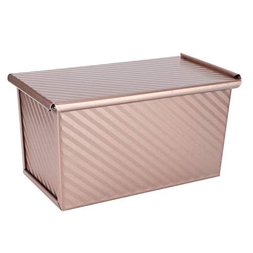 Molde para Hornear Pan, conductividad térmica 3 Orificios de ventilación Molde para Pan, Antiadherente Duradero para Cocina
