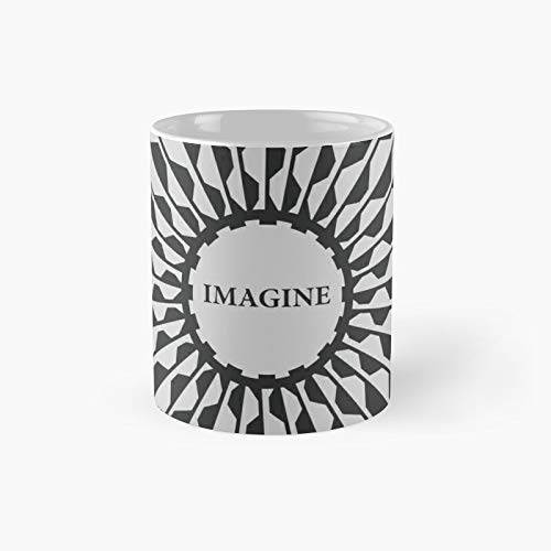 Imagine - Taza clásica conmemorativa