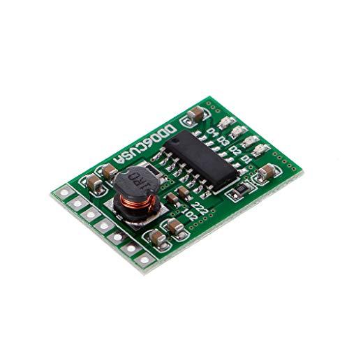 JENOR 5 V/2,1 A Protección contra Descarga, batería de 3,7 V 4,2 V DC UPS DIY Módulo