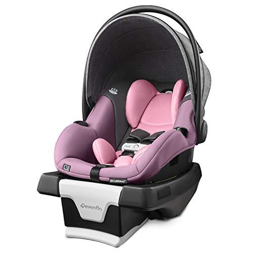 Evenflo Gold SensorSafe SecureMax Smart Infant Car Seat, Opal