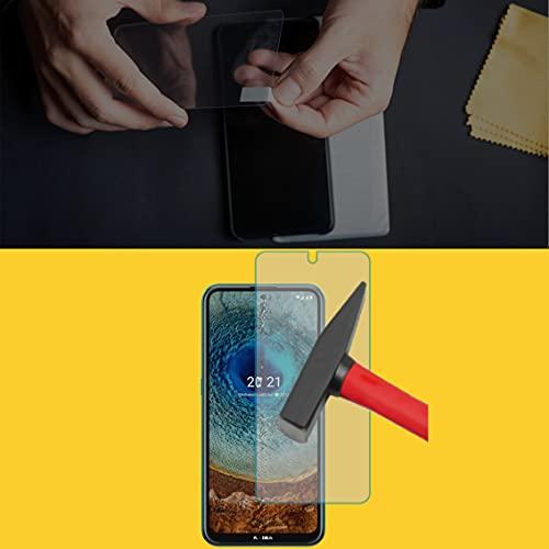 EnWi | 2X Panzer-Glas-Folie 9H Bildschirm-Schutz-Folie für Nokia X20 Dual SIM