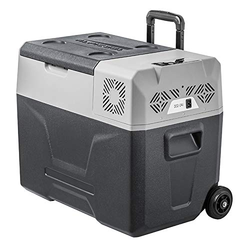KLFD Refrigerador Portátil para Auto, Congelador de Compresor 30L / 40L / 50L, Control Bluetooth, Enfriamiento Rápido de 12 V / 24 V, Ahorro de Energía y Protección del Medio Ambiente,40l