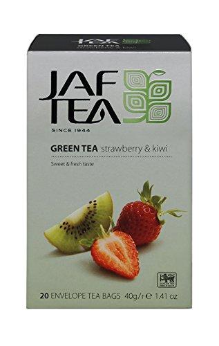 JAF TEA Grüner Tee - Erdbeere & Kiwi - 20 Teebeutel