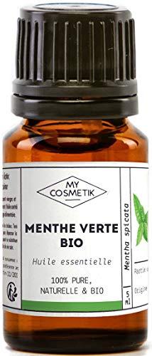 Aceite esencial de Menta verde orgánico - MyCosmetik - 10 ml