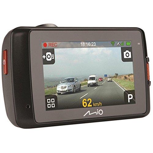 MIO MiVue 658 WIFI Caméra Embarquée avec Extreme-HD, Ecran Tactile, Capteur G et GPS