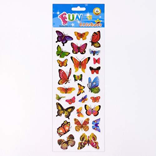 Fun Stickers Butterflies 611