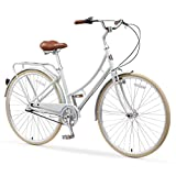 A/O Audrey Women's Bicycle 3-Speed City Bike, Gray, One Size