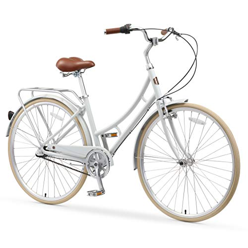 Great Price! A/O Audrey Women's Bicycle 3-Speed City Bike, Gray, One Size