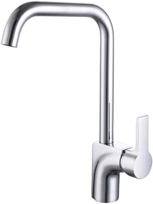 Towero Einfache heie und kalte Spüle Wasserhahn Drehspüle Wasserhahn Spüle Wasserhahn