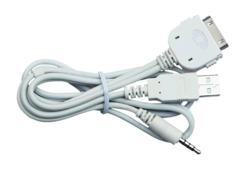 POWER ACOUSTIK IC-3 Full Function iPod Connection Cable for All Inteq Multimedia Source Units
