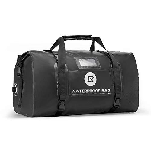 ROCKBROS Waterproof Duffel Bag 60L Motorcycle Travel Dry Duffel Bag for Motorcycling Boating...