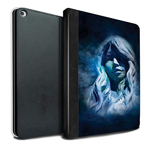 eSwish PU Cuero Funda/Carcasa/Folio Libro en para el Apple iPad Pro 12.9 2017/2nd Gen Tablet/Serie: Zodíaco Estrella Firmar - Virgo/Virgen