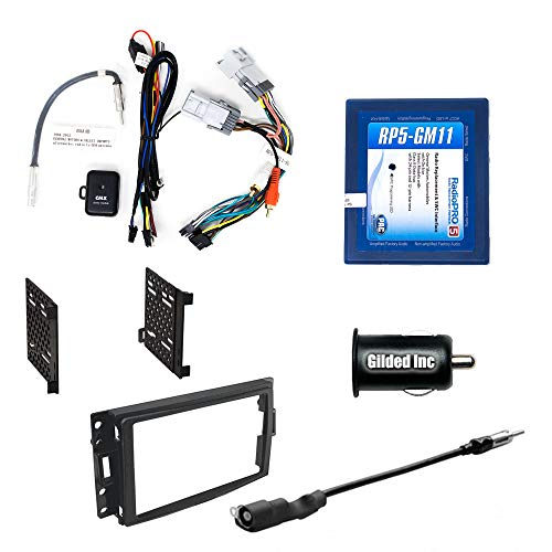 PAC RP5-GM11 Radio Replacement Package for Select 05-13 Chevy Corvette Vehicles