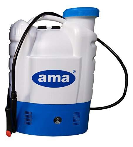 GLD Forniture, AMA, elektrische Umhänge-Bewässerungspumpe, batteriebetrieben, 16 l, zur Unkrautbekämpfung.